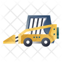 Skid Steer Loader Construction Vehicle Heavy Vehicle Icon
