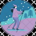 Winter Activity Snow Icon