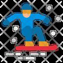 Snowboard Ski Skiing Icon