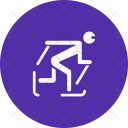 Skiing Cross Country Icon
