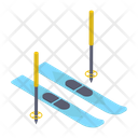 Skiing Board Icon