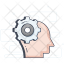 Skill Brainstorming Brain Development Icon