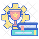 Skill Development Self Learner Self Growth Icon