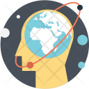 Mind Globe Mental Icon