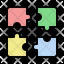 Skills Puzzle Intelligence Icon