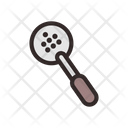 Skimmer Colander Liquid Strainer Icon