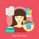 Skin Treatment Cream Icon