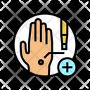 Skin Biopsy Dermatology Icon