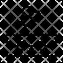 Particle Structure Cream Icon