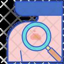 Skin Examination Body Cancer Icon