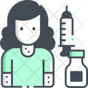 Skin Infection Vaccine Effect Allergy Icon