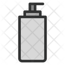 Skincare Cream Bottle Icon