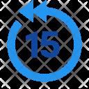 Skip 15 second back Icon