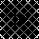 Skip Forward Arrow Icon