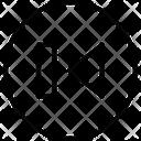 Multimedia Line Skip Round Icon