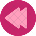Multimedia Flat Skip Round Icon