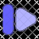 Skip Forward Fast Forward Icon