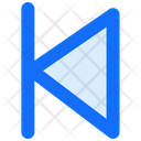 Skip Rewind Multimedia Left Icon