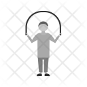 Child Skipping Human Icon