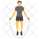Skipping Rope Rope Exercise Jumping Rope Icon