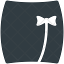 Skirt Skater Clothing Icon