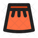 Skirt Women Cloth Bottom Icon