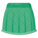Ladies Skirt Wearable Costume Icon