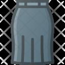 Skirt Cloth Fasshion Icon