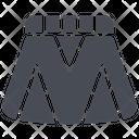 Clothes Skirt Women Icon