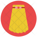 Long Skirt Cloth Icon