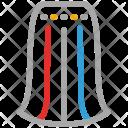 Skirt Gored Gather Icon
