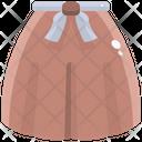 Skirt Mini Skirt Woman Icon