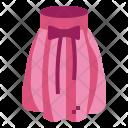 Skirt Feminine Clothes Icon