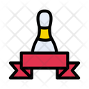 Skittle Bowling Banner Icon