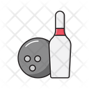 Skittle Bowling Game Icon