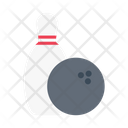 Skittle Game Bowling Icon