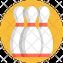 Bowling Skittles Pins Icon