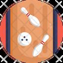Bowling Skittles Ball Icon
