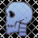 Skull Bone Danger Icon