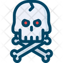 Skull Skeleton Head Horror Icon