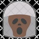 Ghost Skeleton Halloween Icon