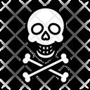 Skull Skull And Bones Danger Icon