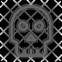Skull Death Danger Icon