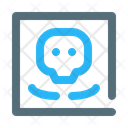Skull Roentgen Xray Icon