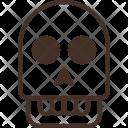 Skull Head Ghost Icon