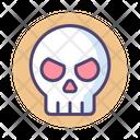 Idanger Skull Danger Icon