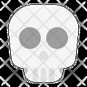 Skull Head Brain Icon