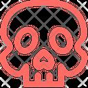 Skull Medical Hospital Icon