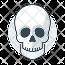 Skull Braincase Brainpan Icon