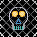 Skull Creepy Vampire Icon